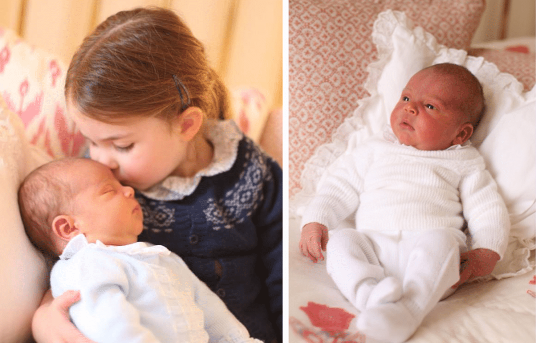 Kate Middleton Snaps First Photos Of Newborn Prince Louis, 1 Major Detail Immediately Stands Out