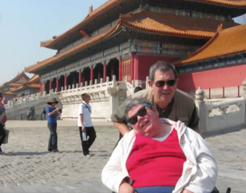 Andy and Donna see China