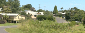 The neighborhood where the incident took place via the Sydney Morning Herald