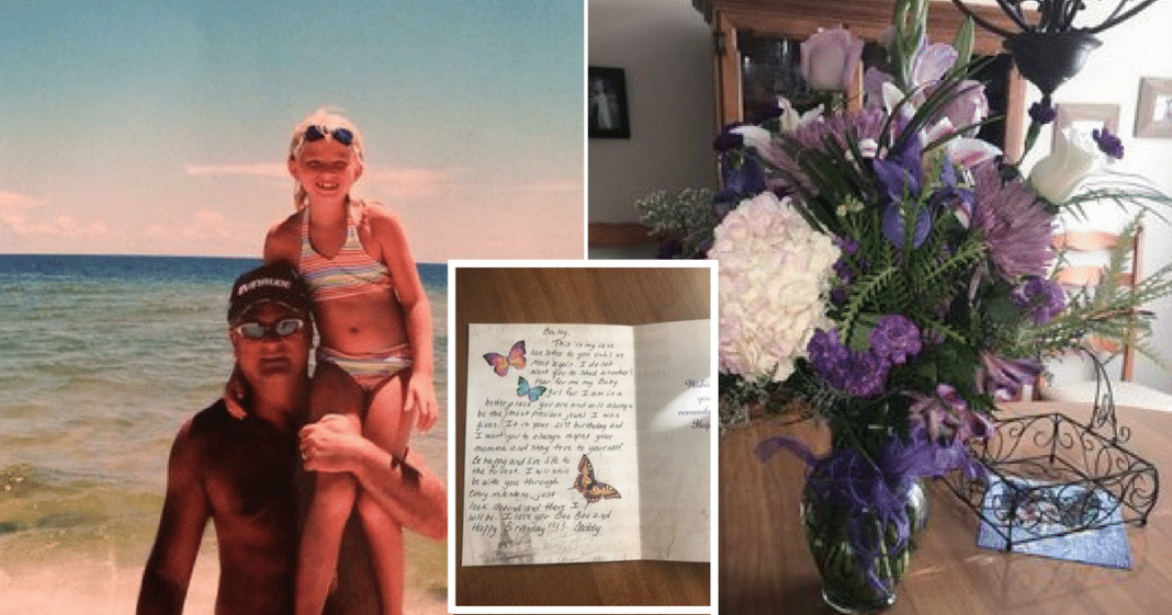 Dead dad sends flowers every year on daughter's birthday. Then one year, final note delivered
