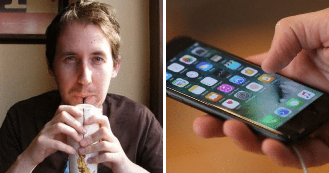 Son Tragically Loses Dad To Cancer, 6 Years Later Gets Text Message That Sends Chills Down His Spine