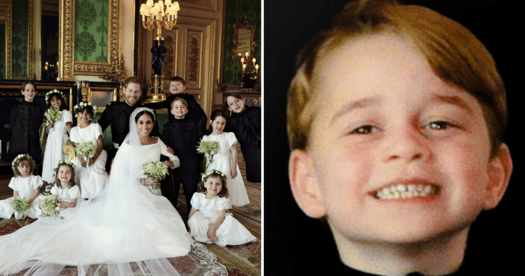 Official Royal Wedding Photos Released – But It's Prince George Who Immediately Steals The Show