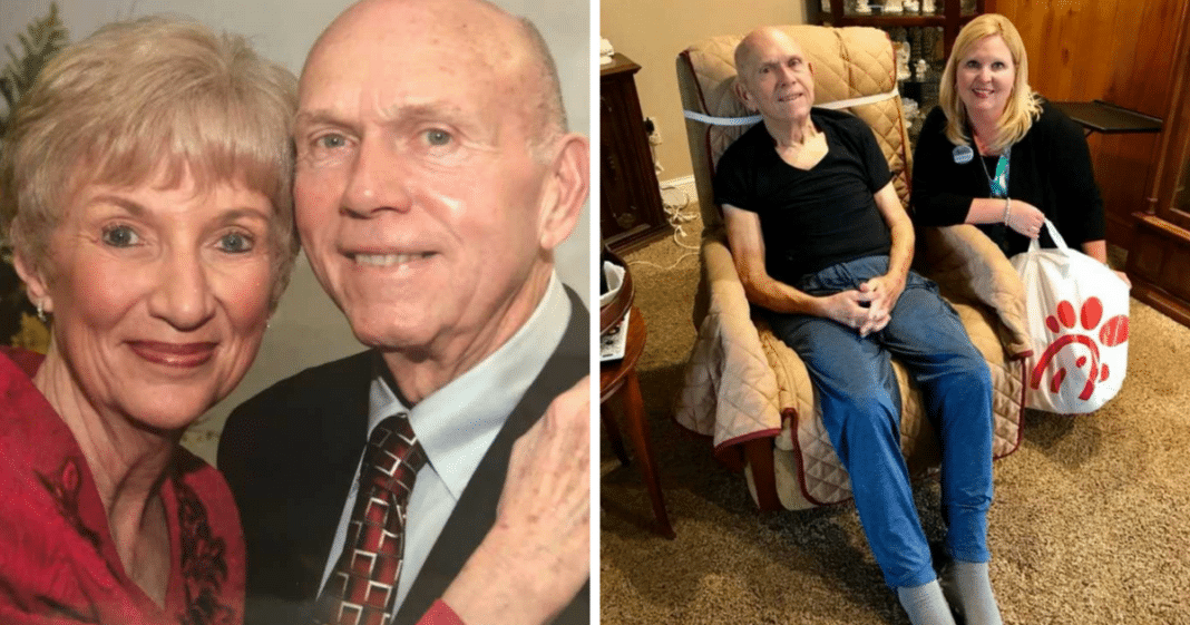 Chick-fil-A Staff Hasn't Seen Elderly Couple In Months, Realize Something's Wrong & Take Action