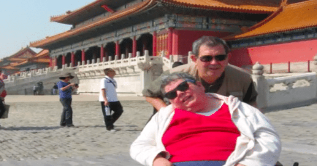 Doctors Tell Man To Put Wife In Nursing Home, Instead They Travel The World For Almost 3 Decades