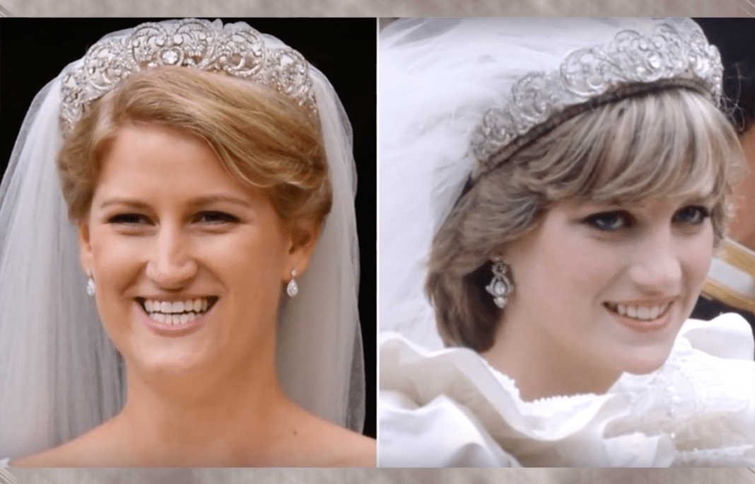 Princess Diana's Famous Tiara Worn In Public For The Fist Time Since 1997 By Her Niece