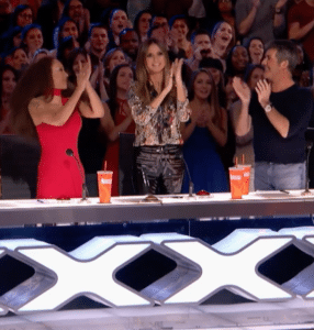The Judges React to his singing