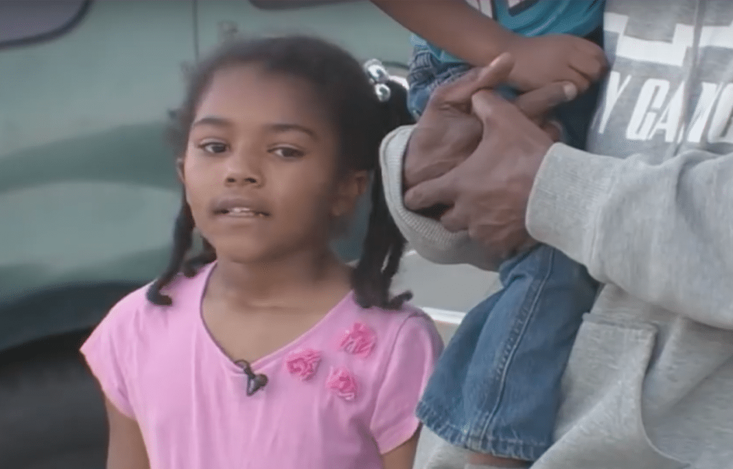 Malaiah Cole bravely tells reporters what happened (see video below)