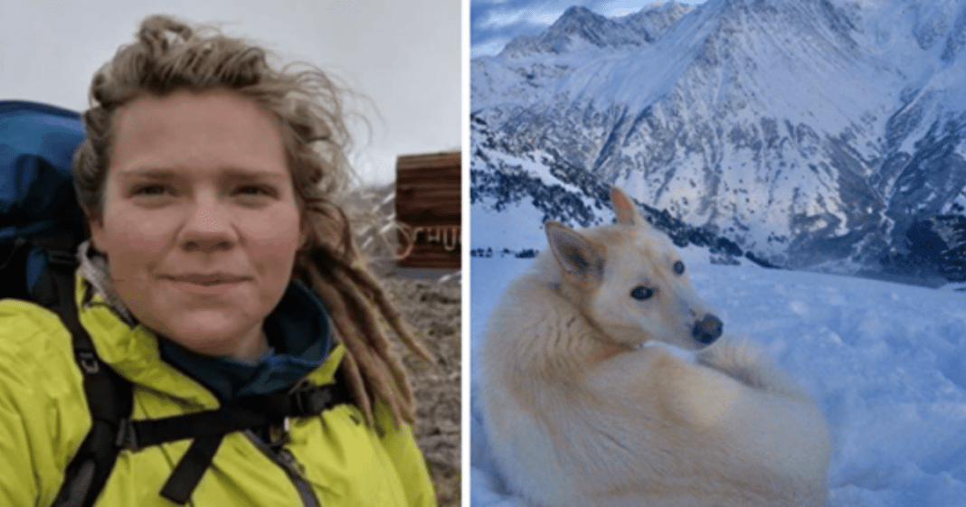 Deaf hiker slips and falls 700 feet  – but then a 'white wolf' comes to save her