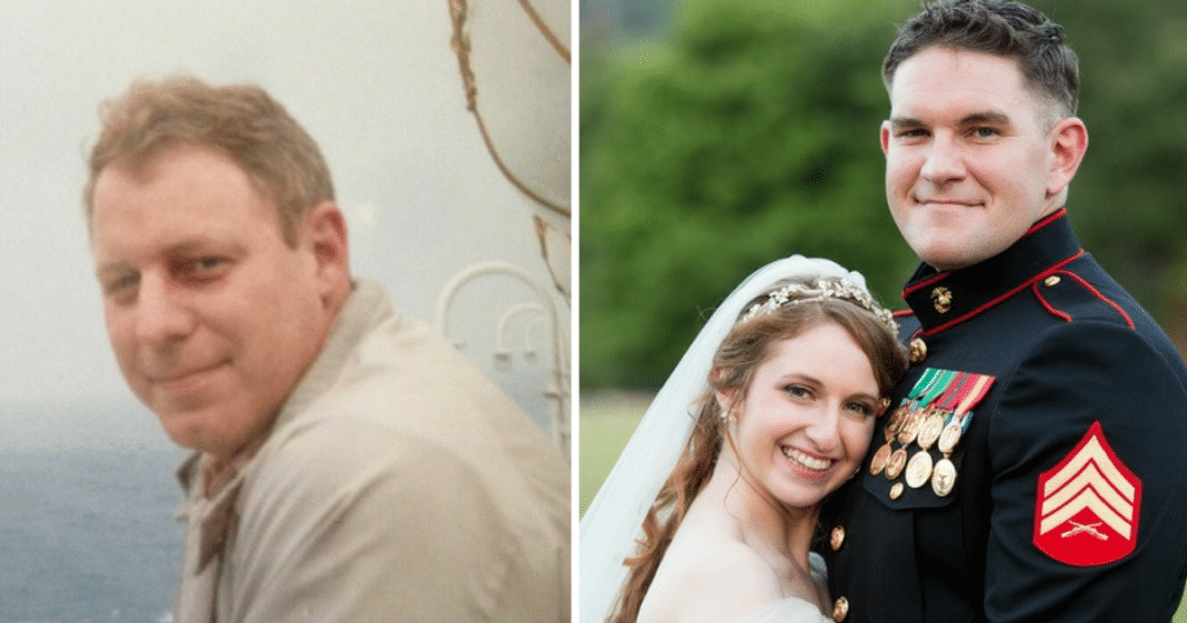 Marine Son Receives Wedding Gift From Dad 9 Years After His Sudden
