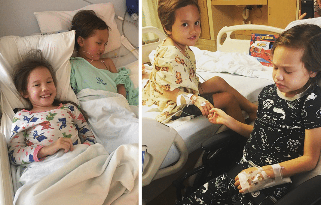 Parents Devastated After Age 6 Girl And Age 4 Brother Diagnosed With Same Brain Tumor Within Days