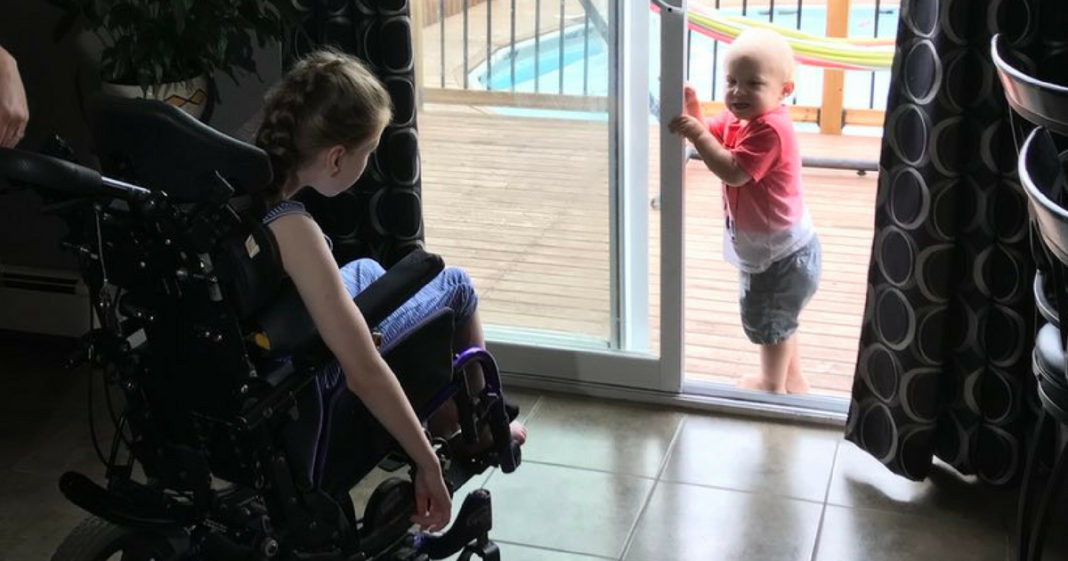 Age 9 Girl With Cerebral Palsy Recognized As Hero After Saving Little Brother From Drowning
