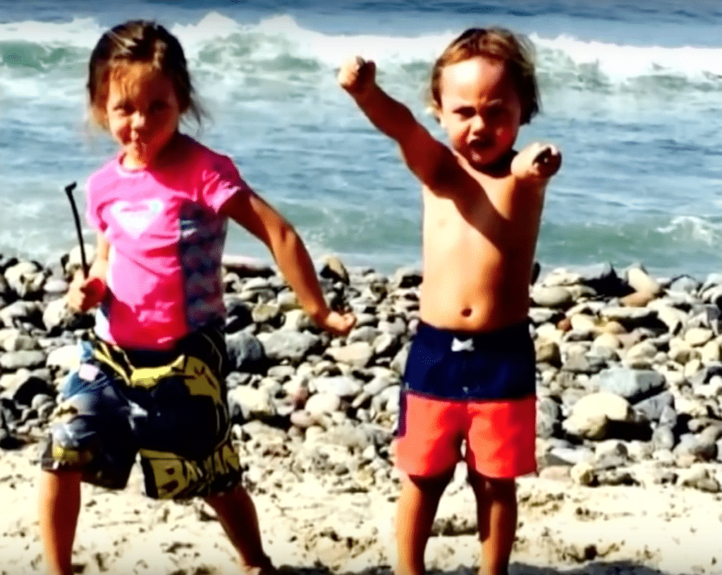 Dynamic duo: Kalea and her brother Noah