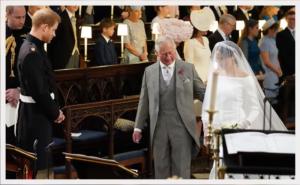 Prince Charles at Prince Harry and Meghan Markle's wedding