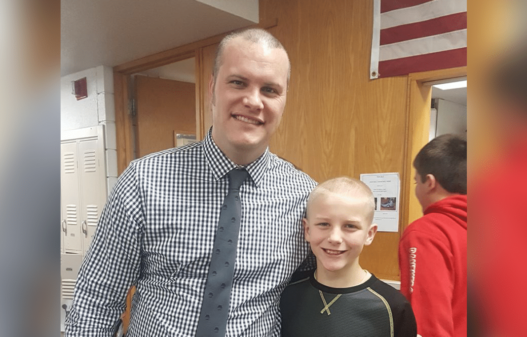 Principal Finds Out Students Tease Boy With Bald Head, Shaves Off Own Hair To Teach Bullies A Lesson