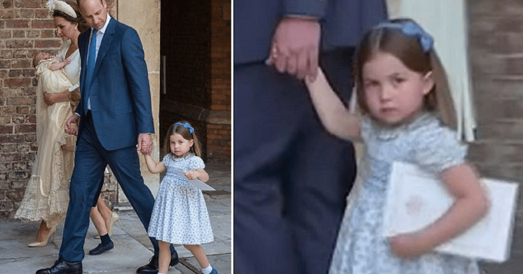 Cheeky Princess Charlotte Puts Reporters In Their Place With Hilarious 3-Word Comment
