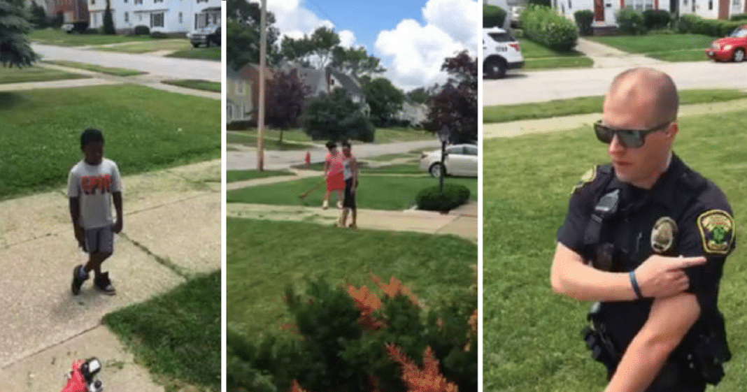 Neighbors Call Cops On Age 12 Boy For Mowing Lawn – It Backfires In The Best Way Possible