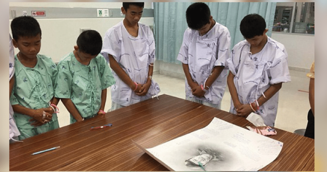 Boys Rescued From Thai Cave Cry As They Finally Learn About Navy Seal Who Died Trying To Save Them