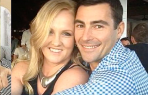 Brad Lewis with his wife, Suz