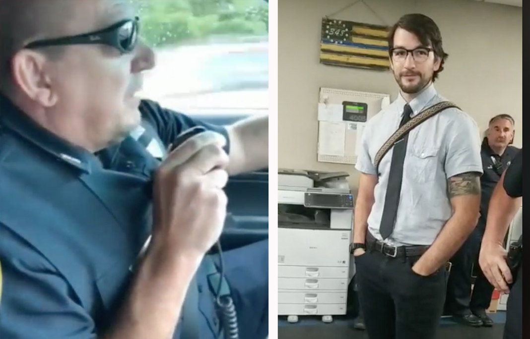 Cop Radios In For The Last Time, Overcome With Emotion When He Hears His Son's Voice Reply