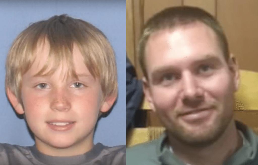 Jacob and his father, Robert Caldwell