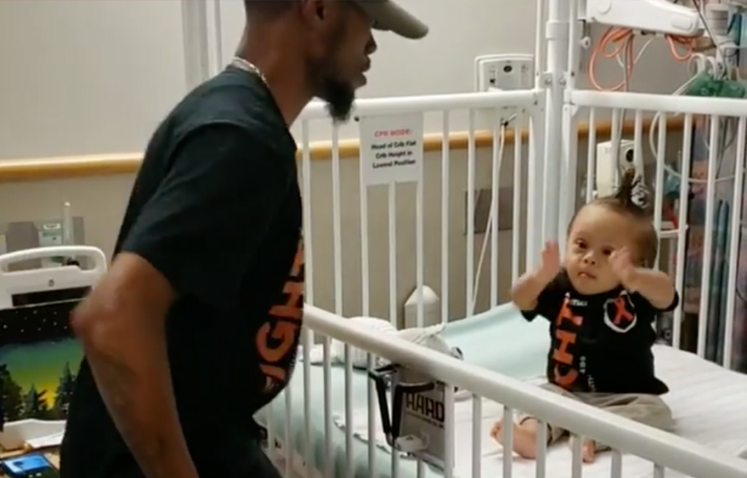 Devoted Dad Shares Video Dancing With Age 1 Son After First Round Of Chemo – Wins Competition