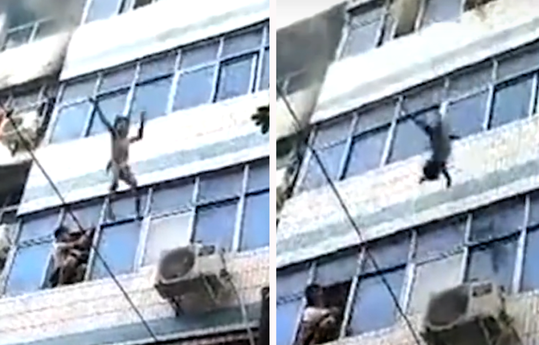 Brave Mom Uses Last Strength To Throw 2 Children To Safety From Burning Building Before Dying