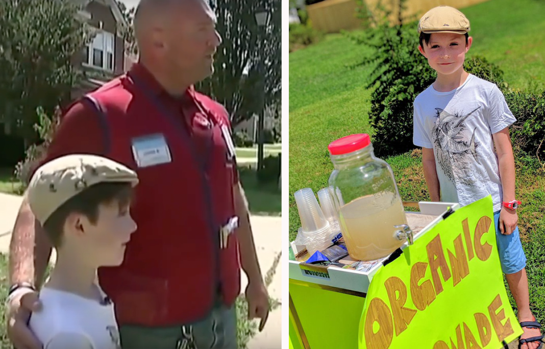 Lowe's Takes Matters Into Own Hands After Age 9 Boy's Lemonade Stand Is Robbed At Gunpoint