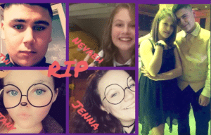 Pictures of the teens via Facebook/ GoFundMe