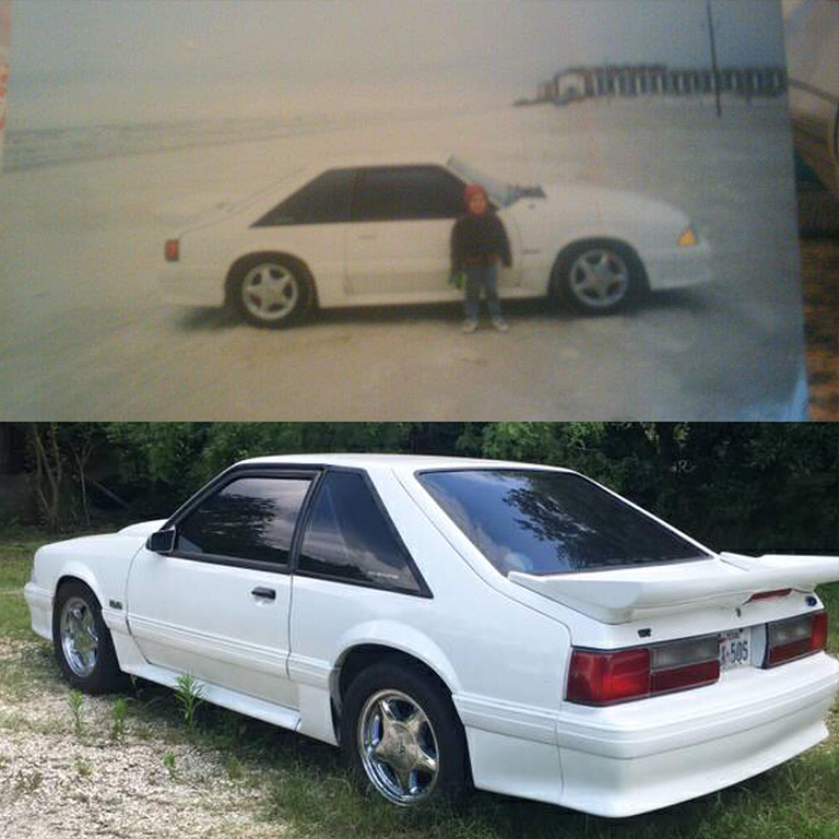Christine, then and now