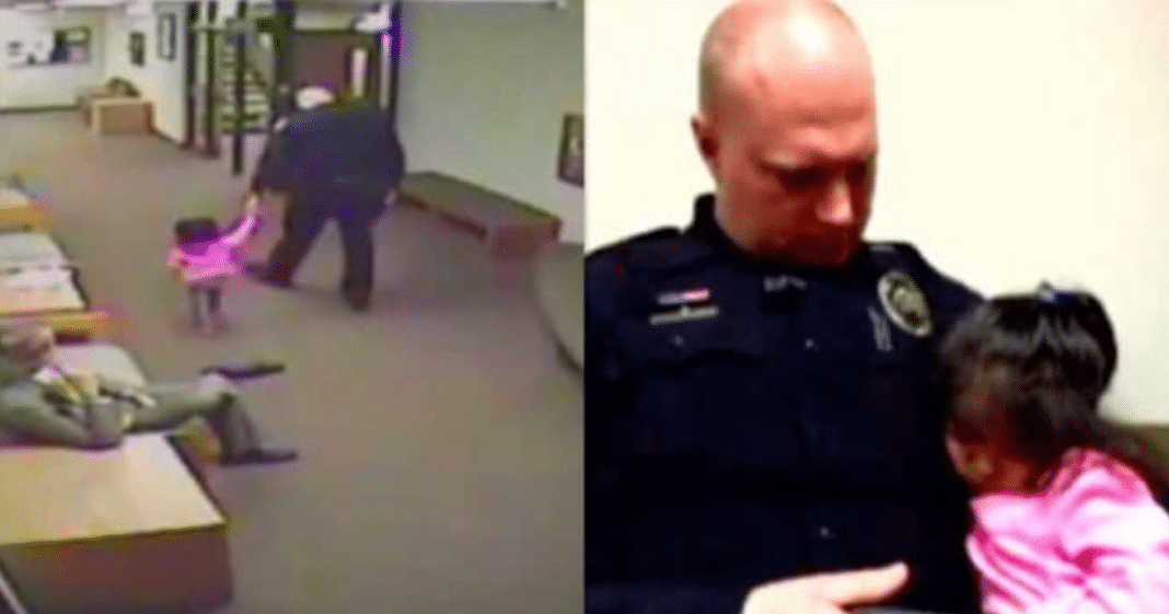 Cop Offers To Watch Age 2 Girl While Dad's In Court – Then Dad Returns And Realizes What Officer Did