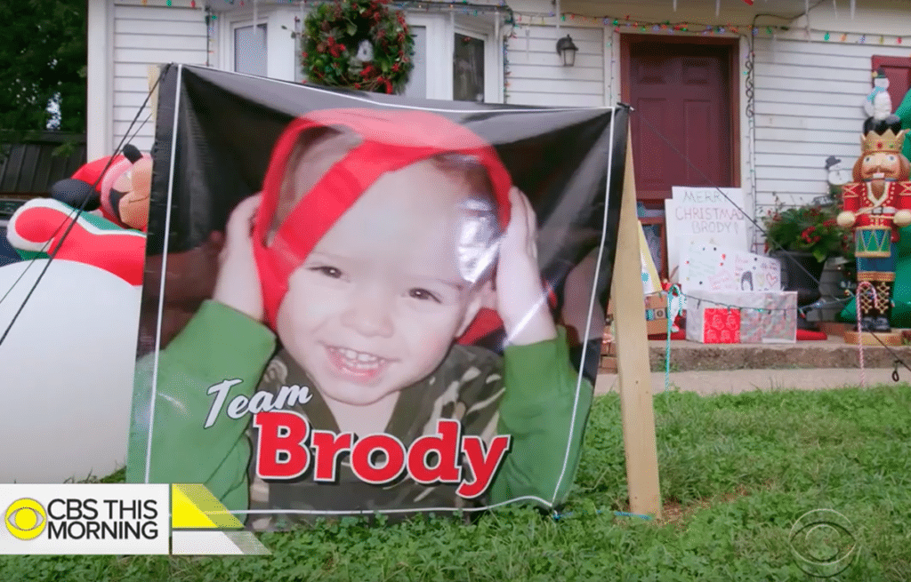 Some of the decorations for Brody