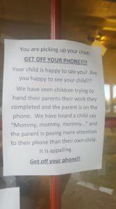 Daycare sign via Facebook