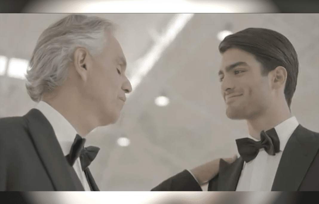 Andrea Bocelli Duets With Age 20 Son Matteo For First Time And The Song Is Moving Everyone To Tears