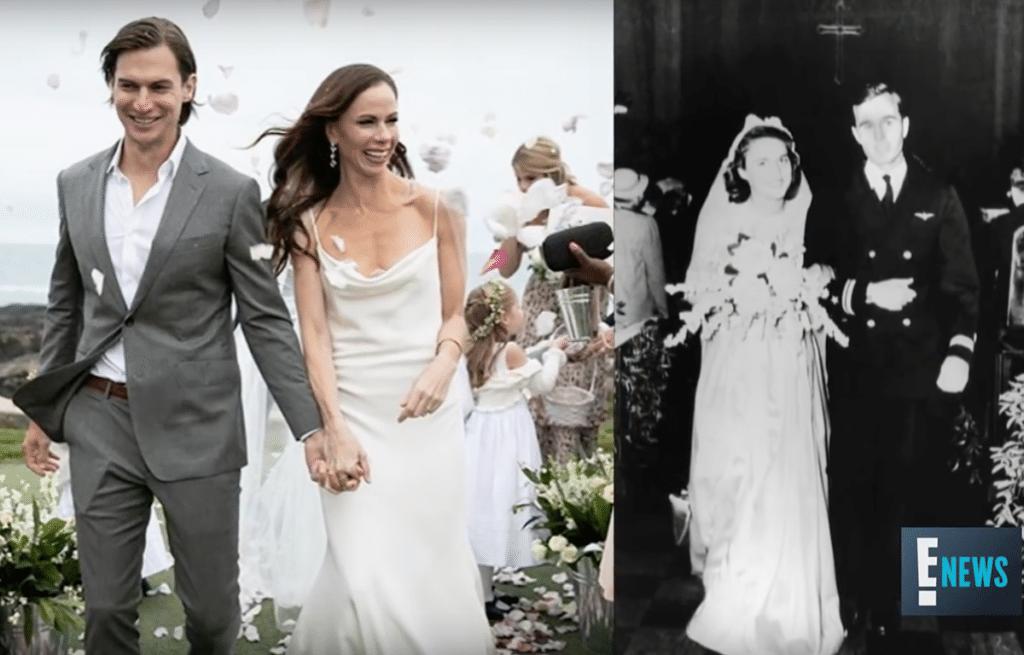 The two Bush weddings