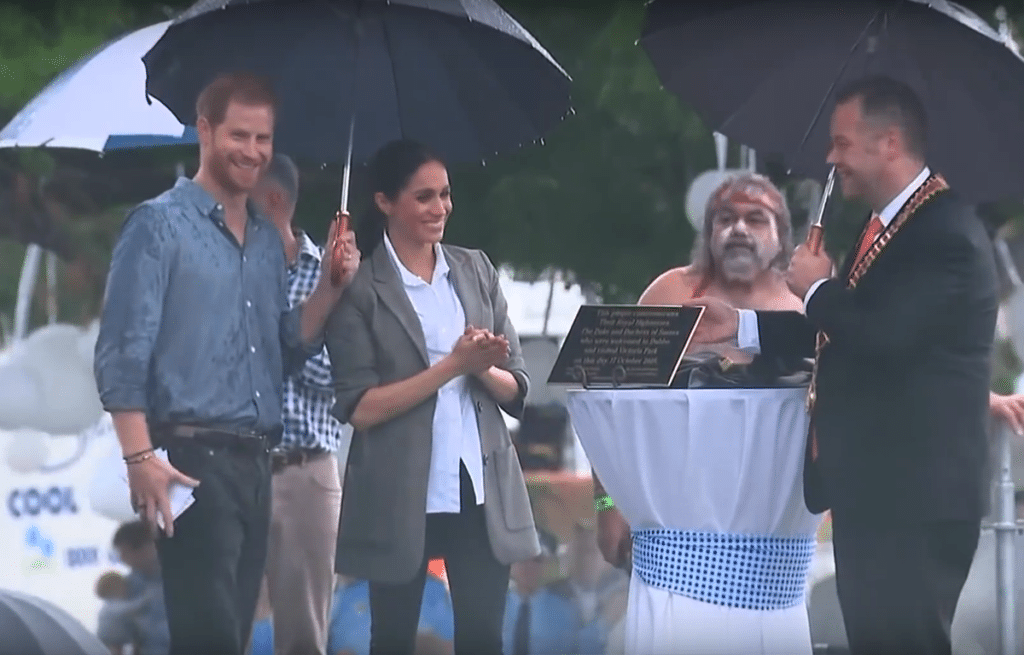 Prince Harry and Meghan Markle in Dubbo
