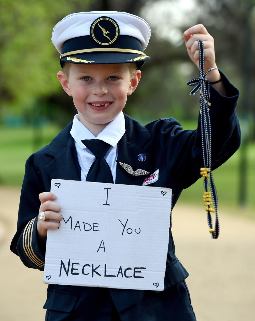 Gavin is ready for the Duchess via imadeyouanecklace.com