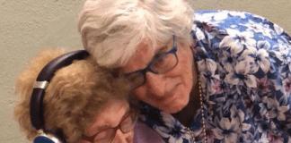 Joanne Lowenstern meets her mother, Lillian Feinsilver