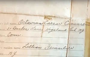The record showing Lillian's name