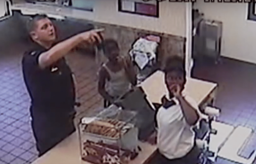 Surveillance Video Shows Last Minutes Of Slain Officer's Life Were Spent Buying Age 13 Boy Food