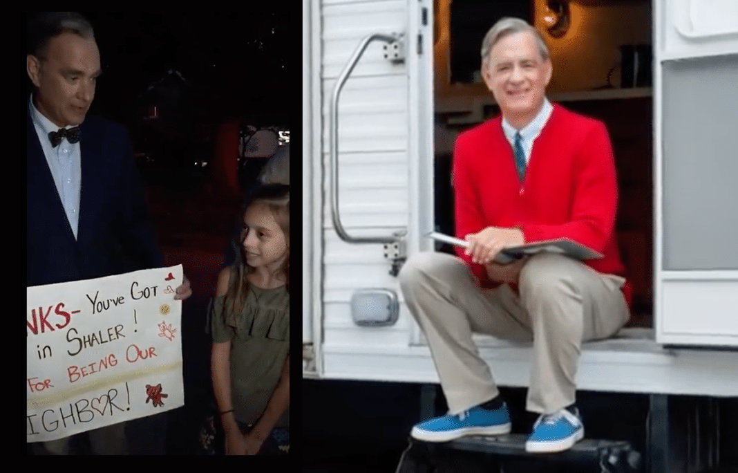 Tom Hanks Singing Beloved Mr. Rogers Song With Kids Is The Best Video You'll See All Day