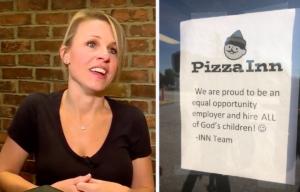 Amanda Cartagine, Pizza Inn