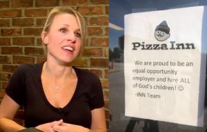 Pizza Inn, Greenville, Amanda Cartagine