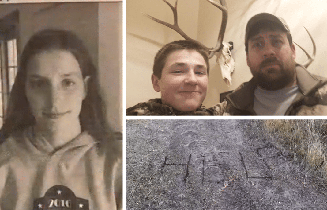 Hunters See Word 'Help' Scratched In The Dirt, End Up Saving Missing Age 19 Girl's Life
