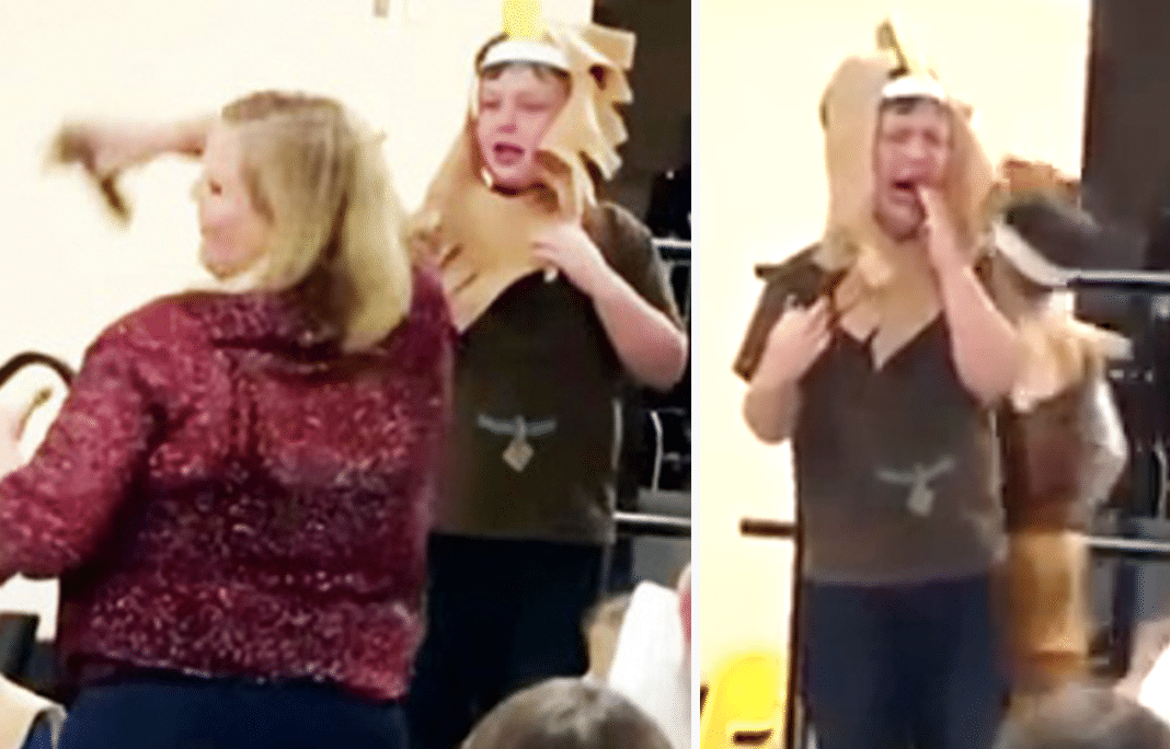 Mom Excited For Autistic Age 6 Son To Speak In Thanksgiving Play, Then Teacher Snatches Mic Away