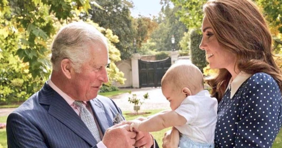 Never-Before-Seen Glimpse Of Prince Charles With His Youngest Grandchild, Prince Louis