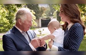 Prince Charles, Kate Middleton, Prince Louis