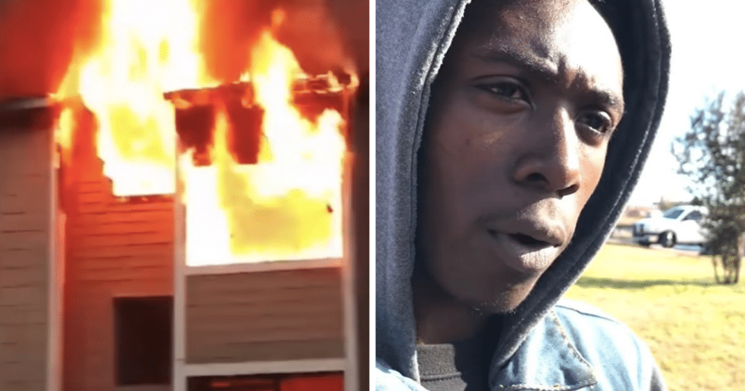 Stranger Catches Age 1 Girl After Desperate Mom Drops Her From Third Story Of Burning Building