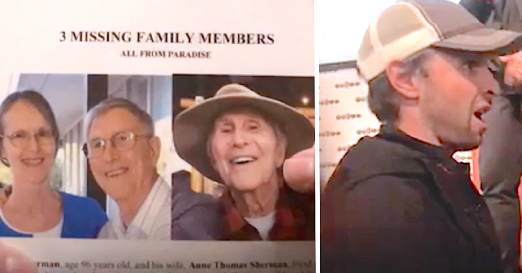Desperate Man Searches For Age 96 Grandparents After Fire. 3 Days Later A Stranger Recognizes Them On TV