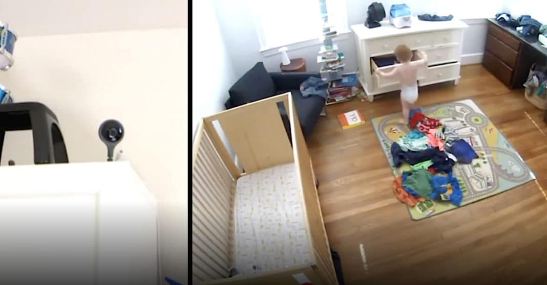Mom Thinks Age 5 Son Is Talking To Husband On Baby Monitor, Then He Tells Her 'It's Not Daddy'