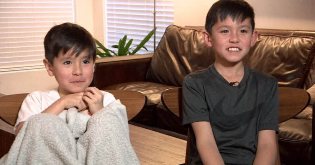 Mom Teaches Age 7 And 10 Boys CPR By Chance, 5 Months Later They Save Their Grandmother's Life